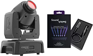 Chauvet DJ Intimidator Spot 110 LED Moving Head Spotlight with SoundSwitch DMX Interface Package