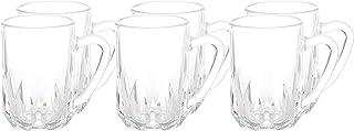 Luminarc DD7229 Artic Tea Set of 6 Piece,Tumbler Glass Clear, W 31.2 x H 9.0 x L 5.2 cm