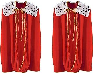 Beistle Child sized robe, One, Red/Black/White