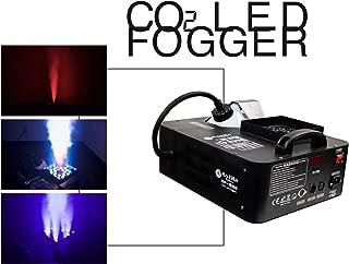Rasha Products C02 LED Fog Machine for Disco Club Bar Party Dj Wedding Concert Dmx System(Black)