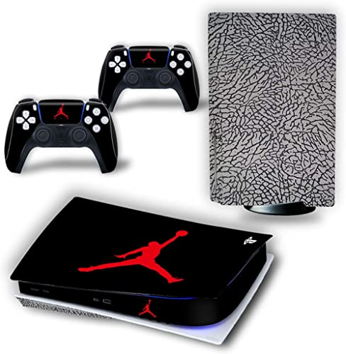 PS5 Console and Controller Skin Vinyl Sticker Decal Cover for PlayStation 5 Console and Controllers, Disk Edition -Jo...