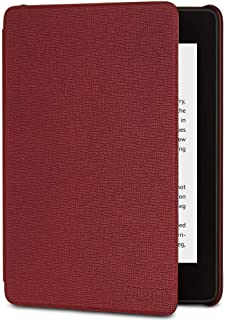 Kindle Paperwhite Leather Cover (10th Generation-2018) - Merlot