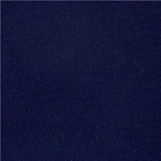 Fabric Merchants Rayon Challis Solid, Yard, Navy