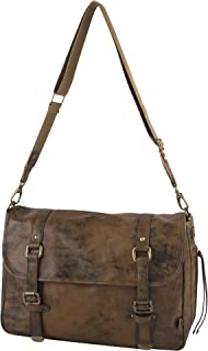 OiOi Baby Diaper Bag + Messenger Bag for Men (The Perfect Dad Diaper Bag) - Jungle Leather