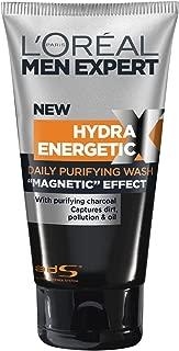 L'Oreal Men Expert Hydra Energetic Black Charcoal Wash, 150ml/5oz