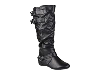 Journee Collection Tiffany Boot Extra Wide Calf (Black) Women
