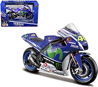 Yamaha Factory Racing (2016 Moto GP #46 Valentino Rossi) 1/10 Scale Diecast Model Motorcycle
