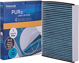PureFlow Cabin Air Filter PC6174X| Fits 2011-18 Ford Focus, 2013-14 Police Interceptor Utility, 2013-18 C-Max, 2013-19 Escape, 2014-20 Transit Connect, 2017-20 GT, 19-20 EcoSport, 2015-19 Lincoln MKC