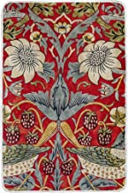 Jojogood William Morris Strawberry Thief Throw Blanket for Couch Sofa 60x90 inches,Super Soft Comfy TV Blanket for Adults Men Women Kids