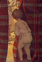 The Everyday Fairy Book 1915 Watching mother on Christmas Eve Poster Print by Jessie Willcox Smith (18 x 24)