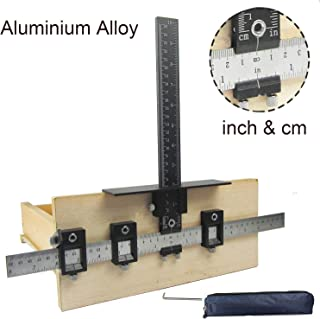 Cabinet Handle Template Tool Aluminum Alloy Punch Locator Adjustable Drill Guide Sleeve..