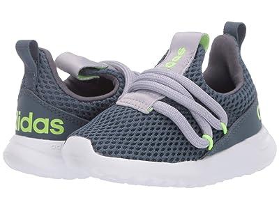 adidas Kids Lite Racer Adapt 3.0 (Toddler) (Legacy Blue/Glory Grey/Signal Green) Kids Shoes