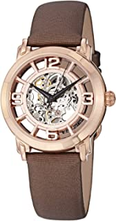 Stuhrling Casual Watch for Women - Leather, Brown, 156.124T14