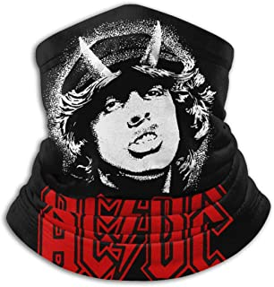 NarcNton ACDC Mens Womens Face Clothing Neck Gaiter Mask �C Non Slip Light Breathable for Sun Wind Dust