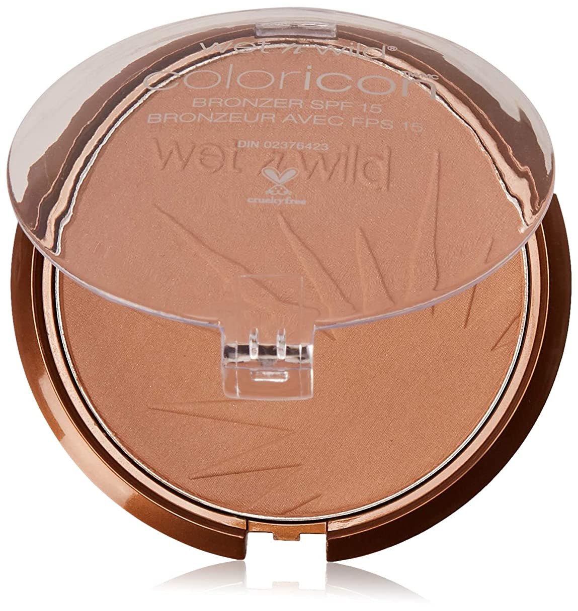 ポスト印象派シアーレモンWET N WILD Color Icon Bronzer SPF 15 - Ticket to Brazil