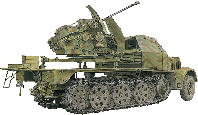 Dragon Models Sd.Kfz.7 with 3.7cm FlaK 43 auf SELBSTFAHRLAFETTE Smart Kit (1 35 Scale)