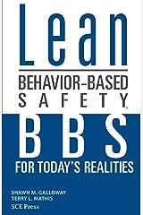 Lean Behavior-Based Safety Kindle Edition