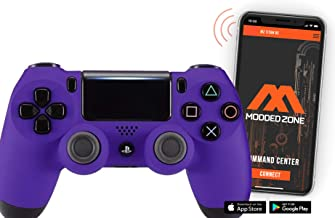Best Soft Touch Purple PS4 PRO Smart Rapid Fire Modded Controller Mods for FPS All Major Shooter Games Warzone & More (CUH-ZCT2U) Review