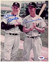 Mickey Mantle & Billy Martin Autographed 8x10 Photo New York Yankees Gem Mint 10 PSA/DNA #AF04265