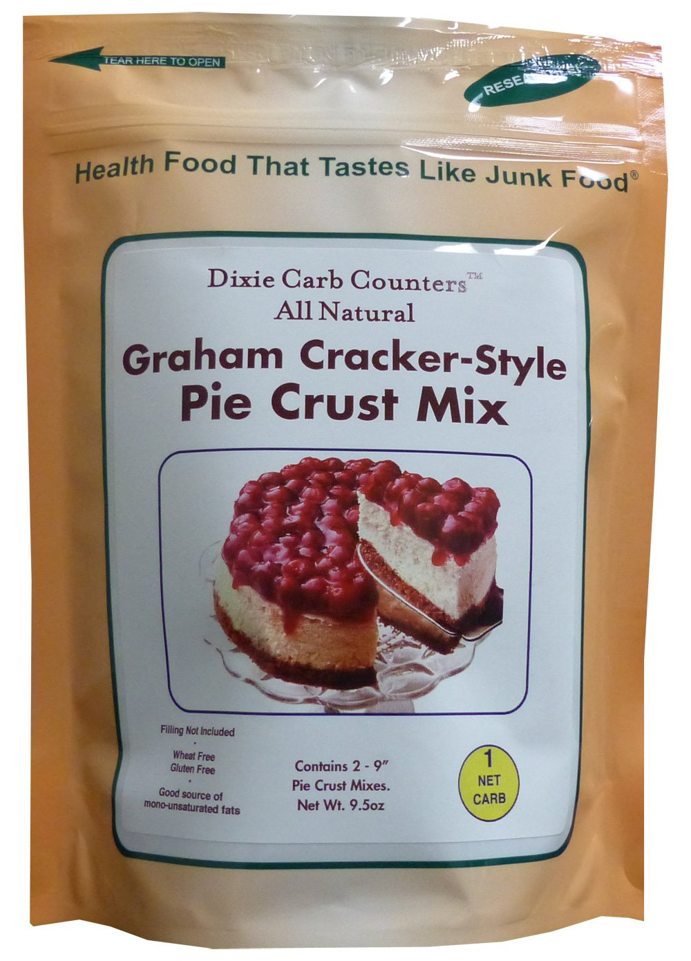 Carb Counters Translated Graham Cracker quality assurance Style oz. Crust 9.5 Pie Mix