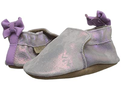 Robeez Pretty Pearl Soft Sole (Infant/Toddler) (Iridescent) Girl