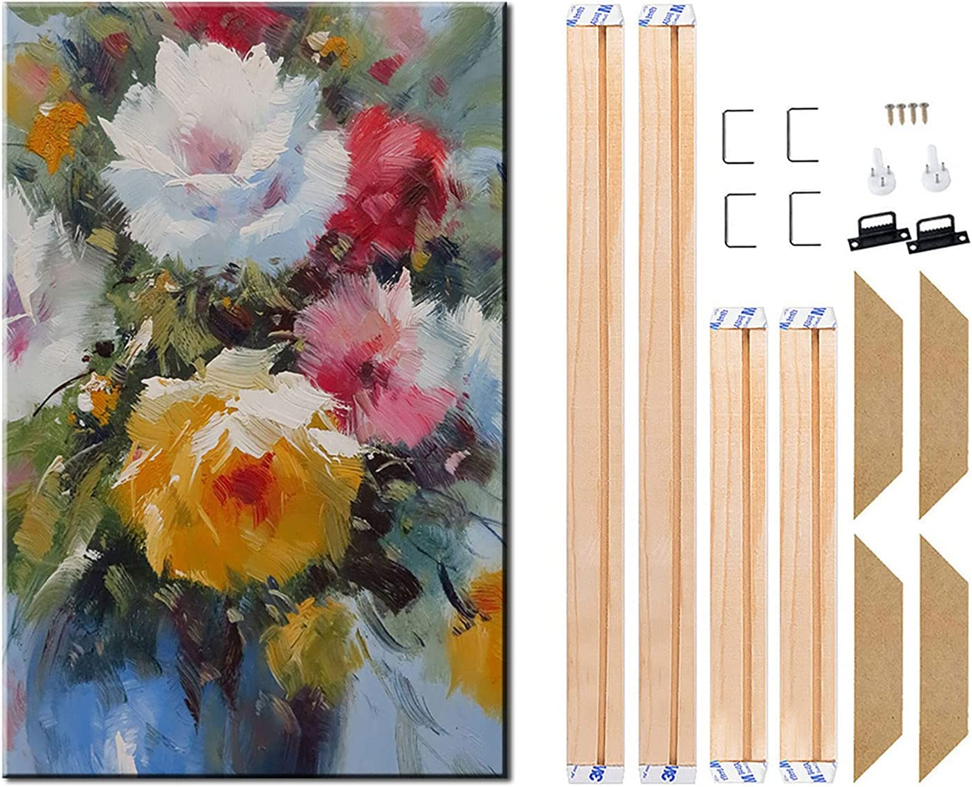 Canvas Wood Fort Worth Mall Stretcher Bars Year-end gift Painting Wr Frames for Wooden Gallery