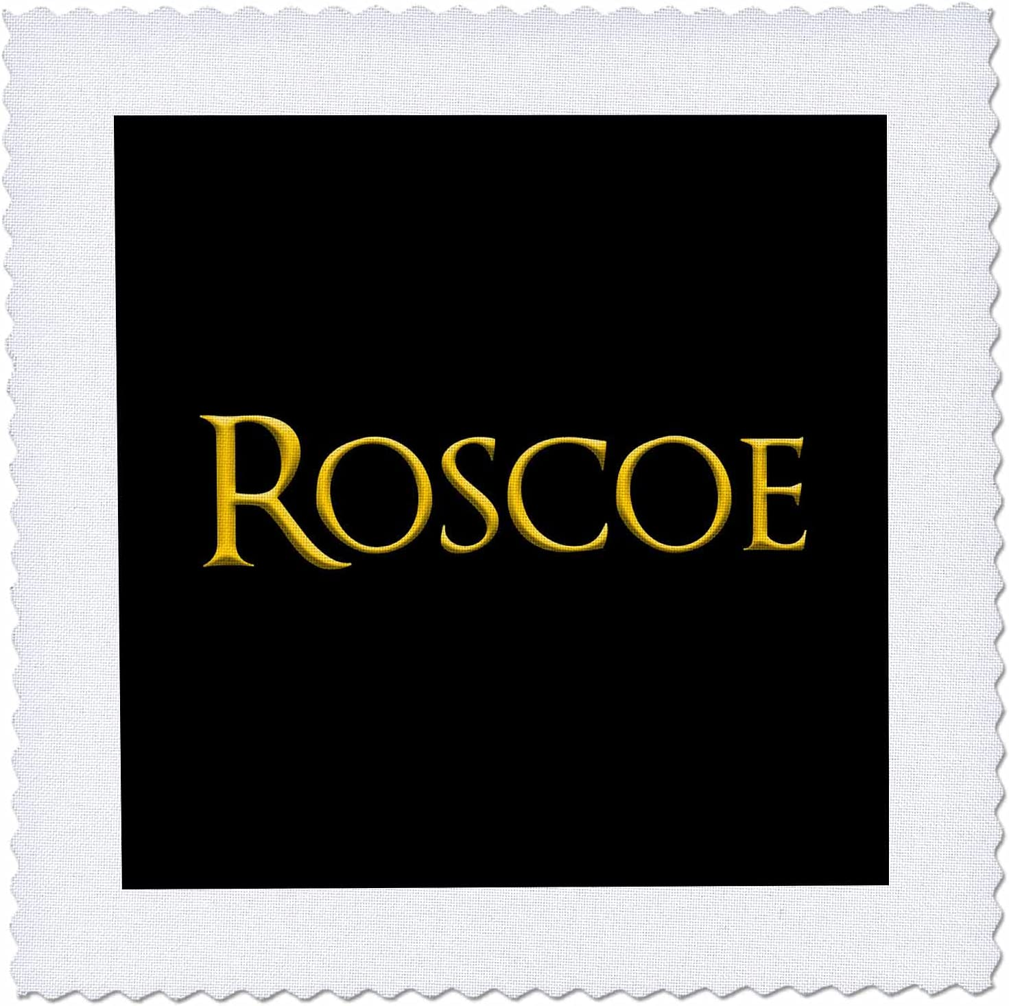 3dRose Roscoe favored male Selling name in Yellow char the black USA. Max 47% OFF on