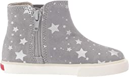 Gray Suede Stars
