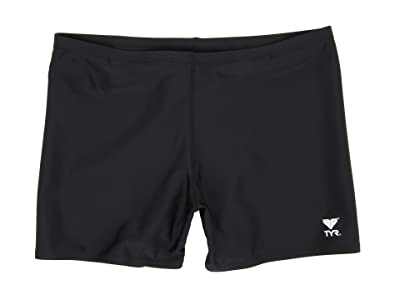 TYR Male Solid Square Leg (Black) Men