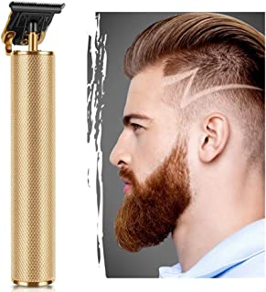 Electric Pro Li Outliner Hair Clippers Cordless Rechargeable Grooming Kits T-Blade Close Cutting Trimmer for Men 0mm Zero Gap Baldhead Beard Shaver Barbershop Professional