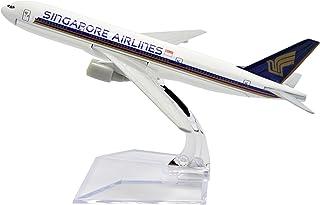 TANG DYNASTY 1/400 16cm シンガポール航空 Singapore Airlines ボーイング B777 高品質合金飛行機プレーン模型 おもちゃ