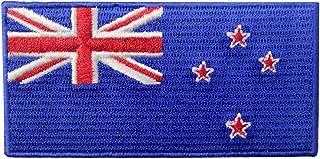 New Zealand Flag Embroidered Kiwi Emblem Iron On Sew On National Patch