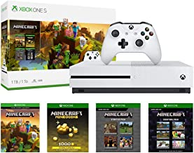 Xbox One S 1TB Console - Minecraft Creators Bundle: 1TB Xbox One S Console, Wireless Controller, Full Game Download of Min...