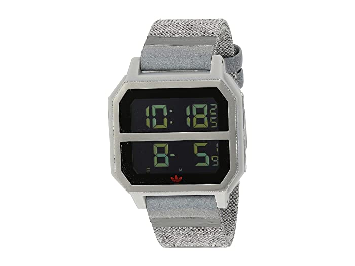 adidas  Archive_R2 (Gray/Orange) Watches