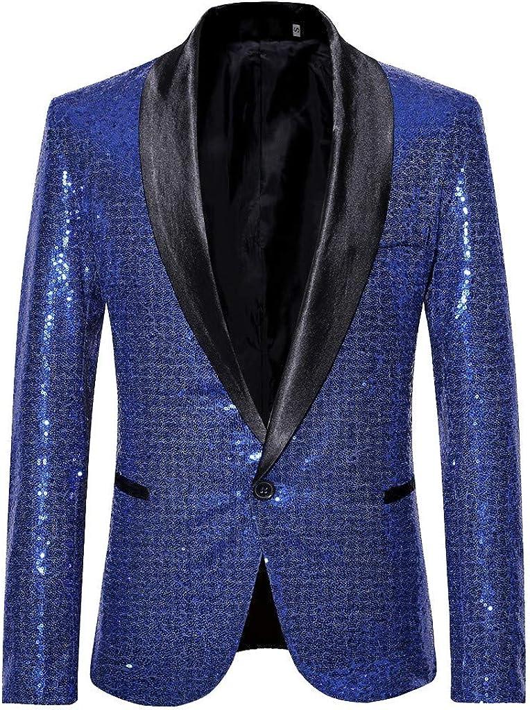 Men Blazer Suit Jacket Wedding Party Stylish Solid Business Outwear Dinner Prom Slim Fit Tuxedo Coats