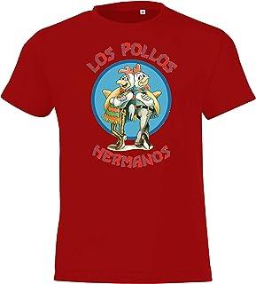 TRVPPY Kinder T-Shirt Modell Los Pollos Hermanos Gr. 2-12 Jahre in vielen Farben
