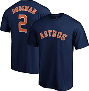 Outerstuff Alex Bregman Houston Astros #2 Navy Youth Name and Number Jersey T-Shirt