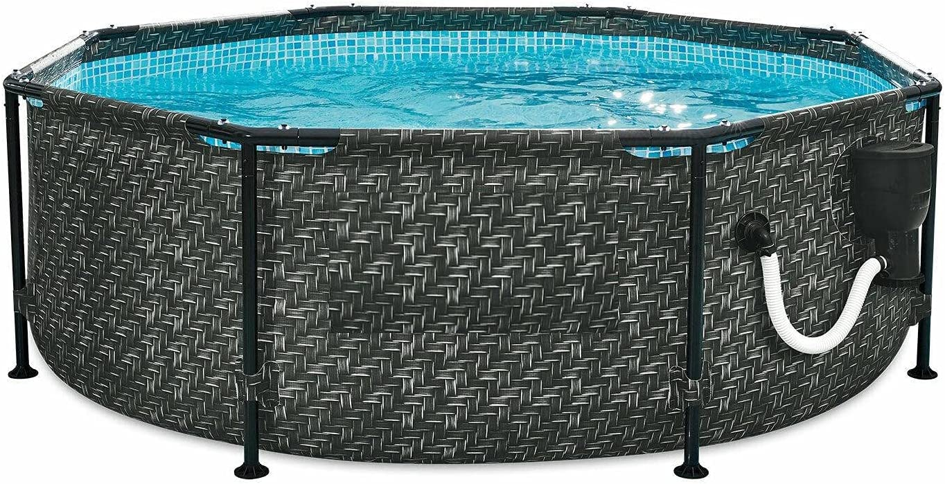 Active Outlet ☆ Free Shipping 8ft x 30in Above Ground Pump Set Pool Swimming Frame Store with