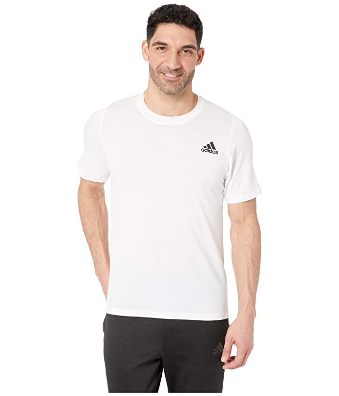 adidas Freelift Sport Lite T-Shirt (White) Men's T Shirt