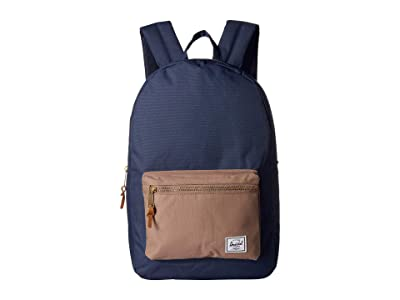 Herschel Supply Co. Settlement (Navy/Pine Bark) Backpack Bags