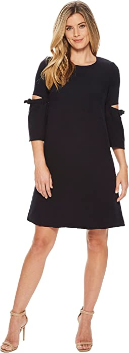 Ellen Tracy A Line Dress With Cut Out