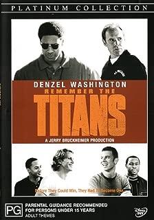 Remember the Titans | Denzel Washington, Ryan Gosling | NON-USA Format | PAL | Region 4 & 2 Import - Australia