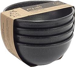 EVO Sustainable Goods 16 oz. Bowl Set, Black