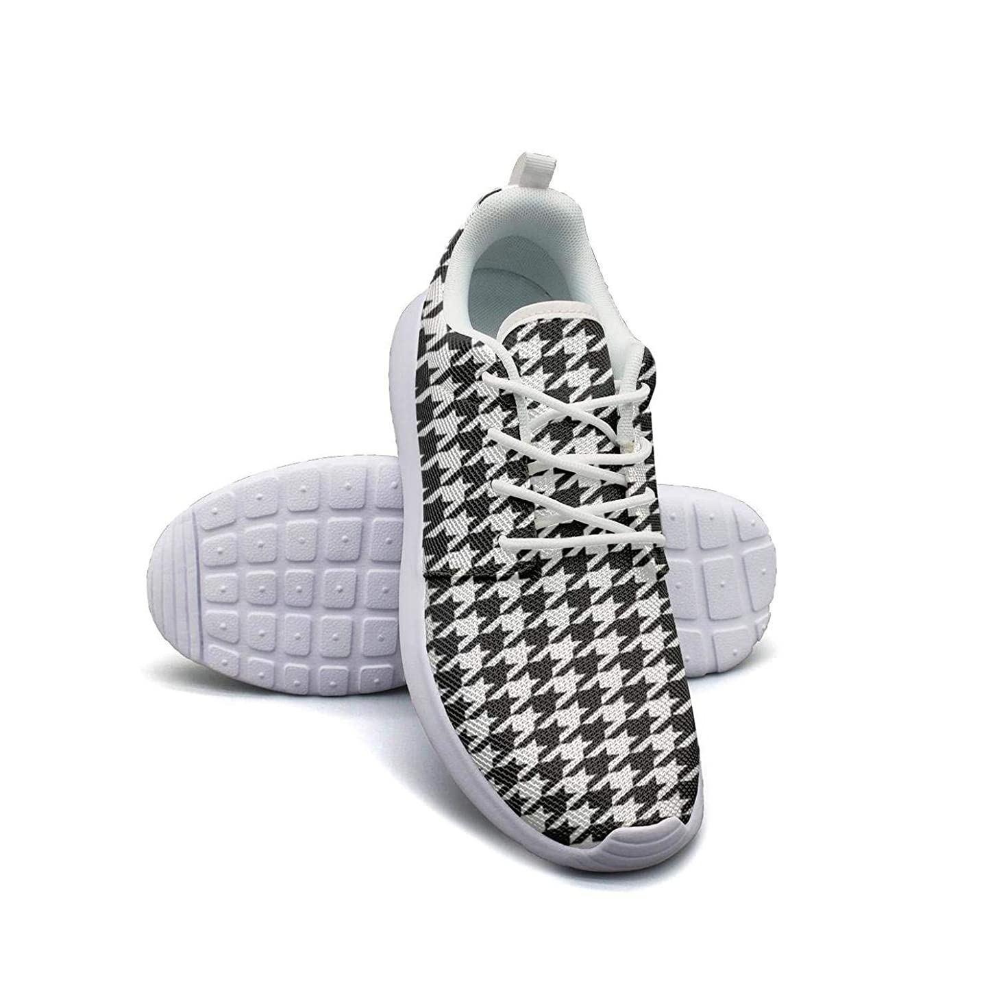 Yellow Leopard Print Running Shoes Lightweight Women Sneaker Walking Casual Shoes