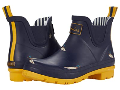 Joules Wellibob Chelsea Boot (Navy Ducks) Women