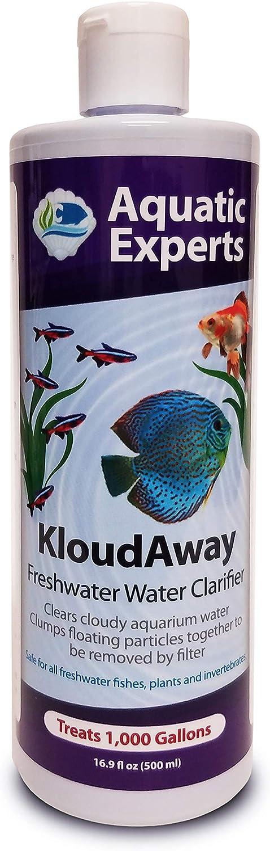 KloudAway Freshwater Aquarium Water Clarifier Wa Max 74% OFF Cloudy - Rare Clears