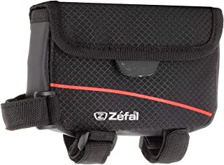 Zefal Bolsa Superior Frontal Z Light Front Pack Poliéster 420D Soporte Velcro, Color Negro, 0.5 l