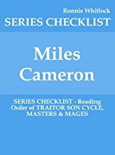 Miles Cameron - SERIES CHECKLIST - Reading Order of TRAITOR SON CYCLE, MASTERS & MAGES