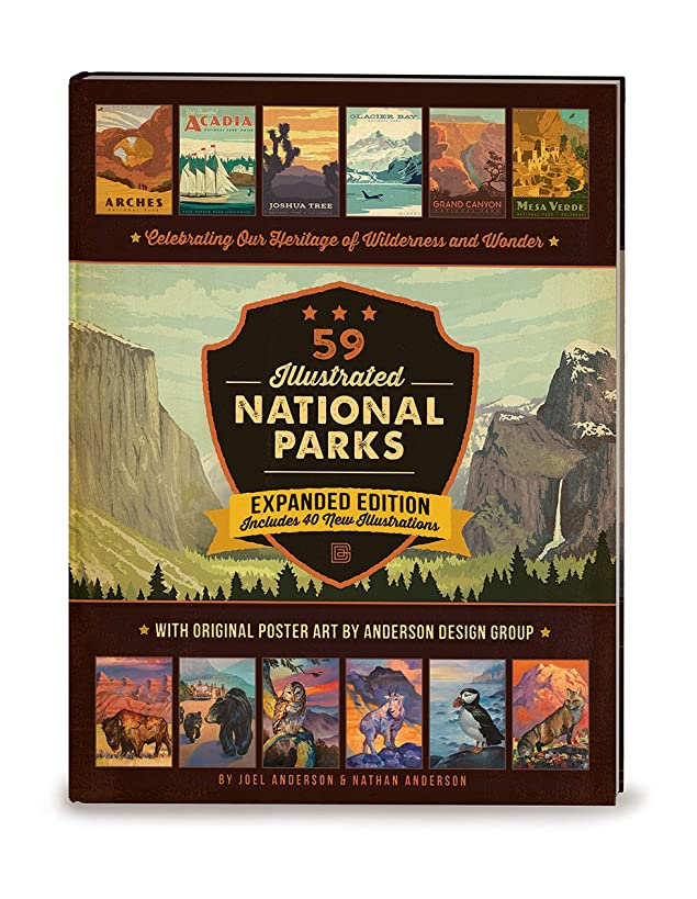 59 Illustrated National Parks: Expanded Edition