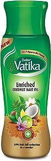 Dabur Vatika Enriched Coconut Hair Oil for Hair Fall Control, 300ml